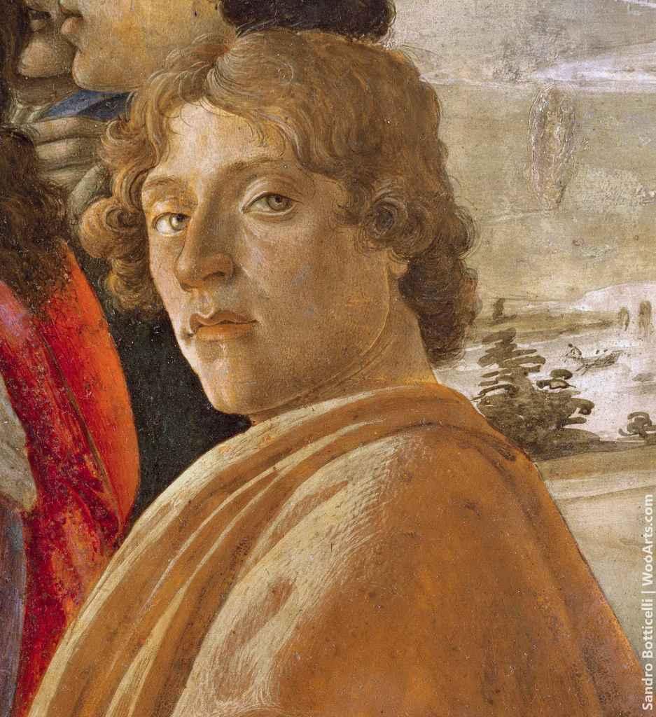 Painting by Artist Sandro Botticelli