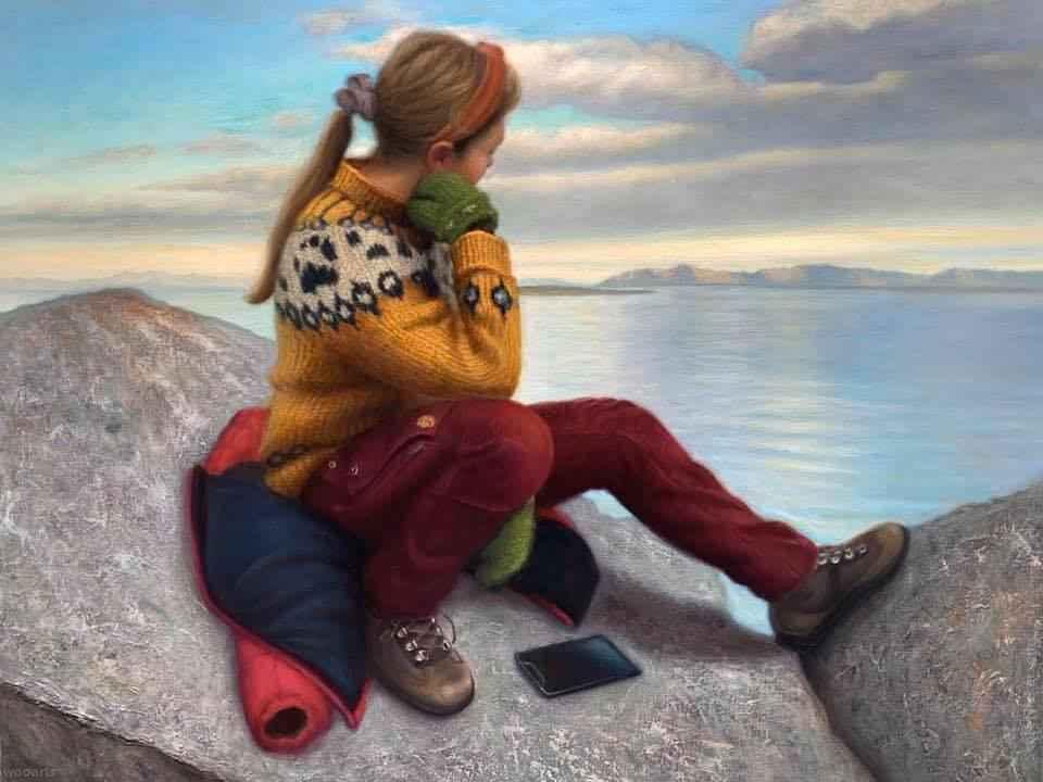 Painting by Artist Scott Nickerson