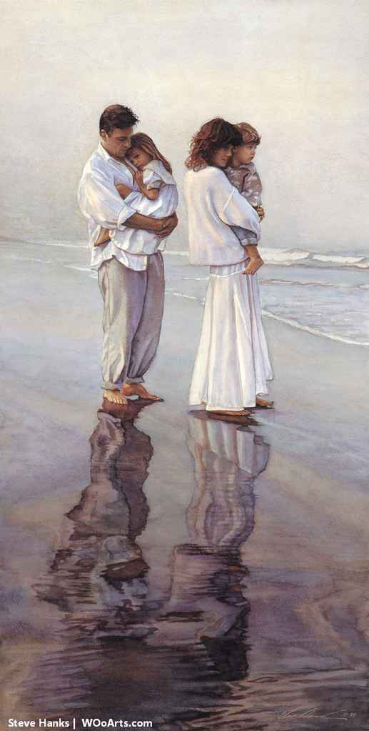 Steve Hanks: inspirational and romantic watercolors 66