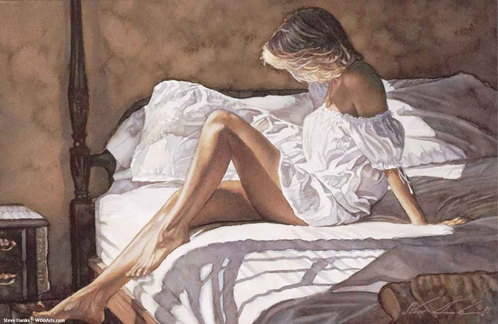 171 Watercolor Paintings By American Artist Steve Hanks