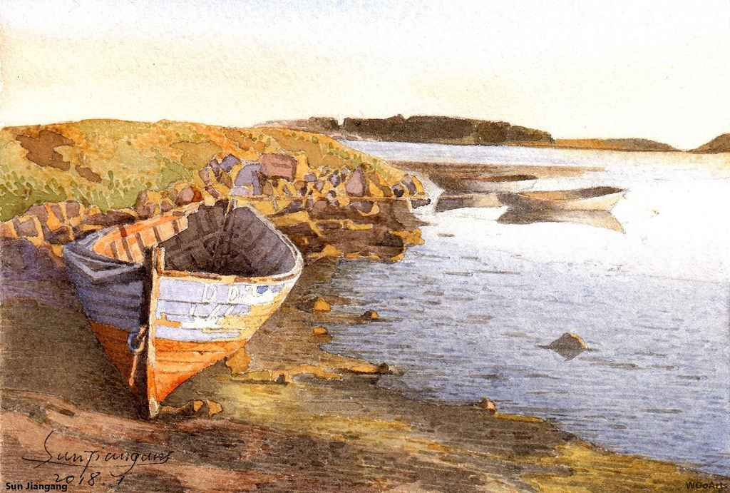 sun-jiangang-watercolor-painting-wooarts-20