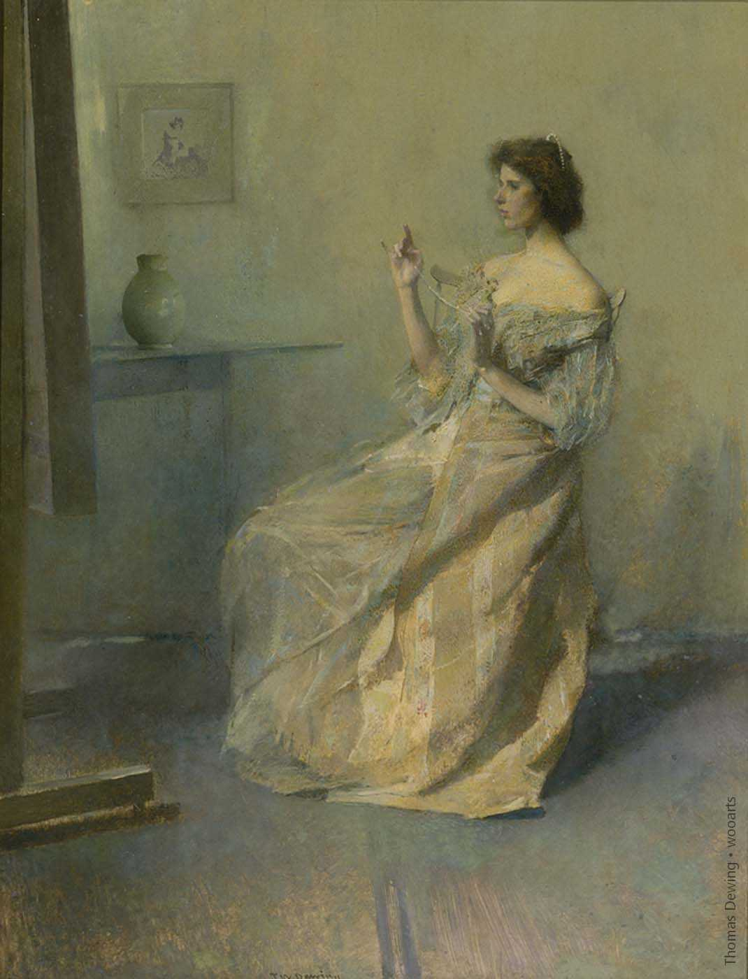 Thomas Dewing Painting