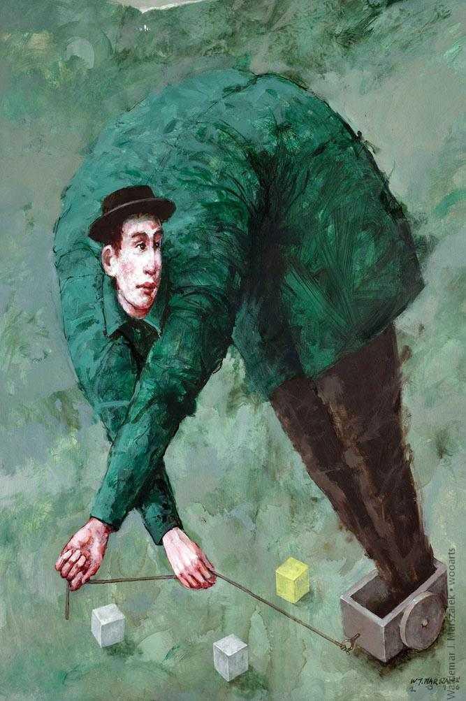 Waldemar J. Marszalek Painting