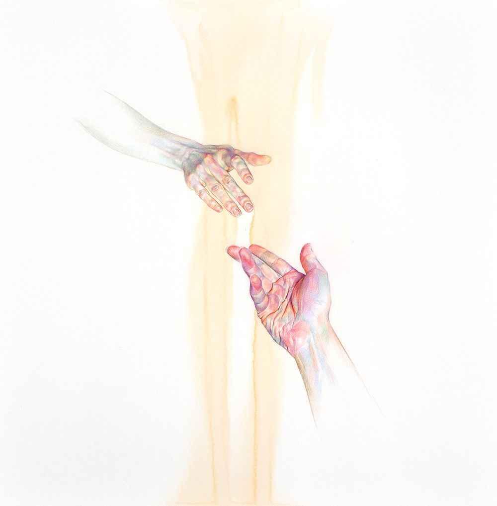 Painting by Artist Wan Jin Gim