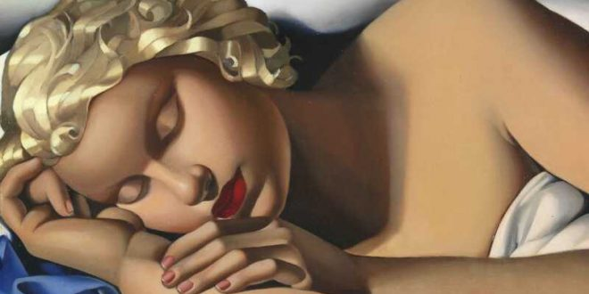 Painting Artist Tamara De Lempicka at WOoArts