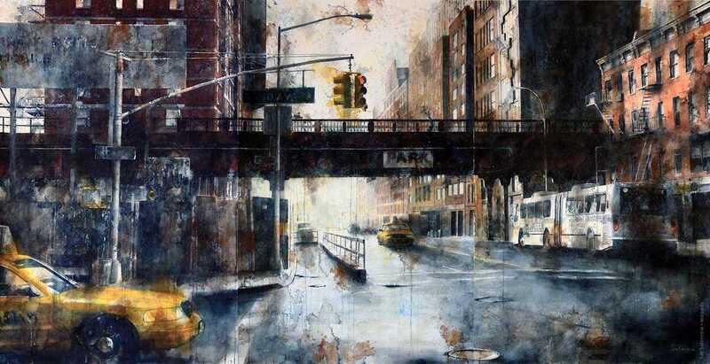 Tim Saternow Watercolor Painting