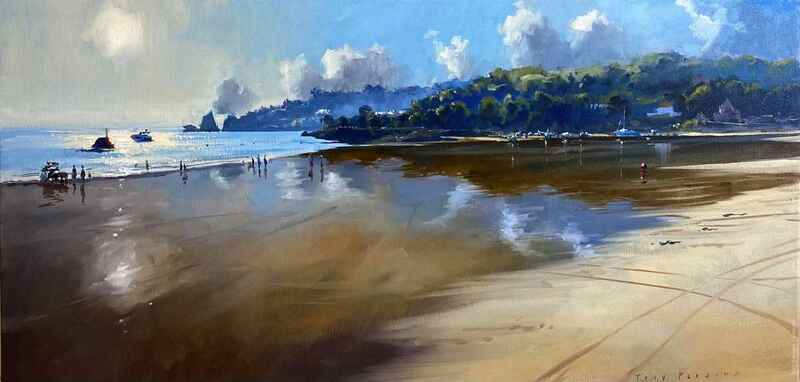 Tony Parsons Oil Painting