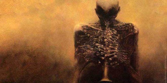 Zdzislaw Beksinski Surrealism Painting