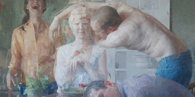Painting Artist Zoey Frank at WOoArts